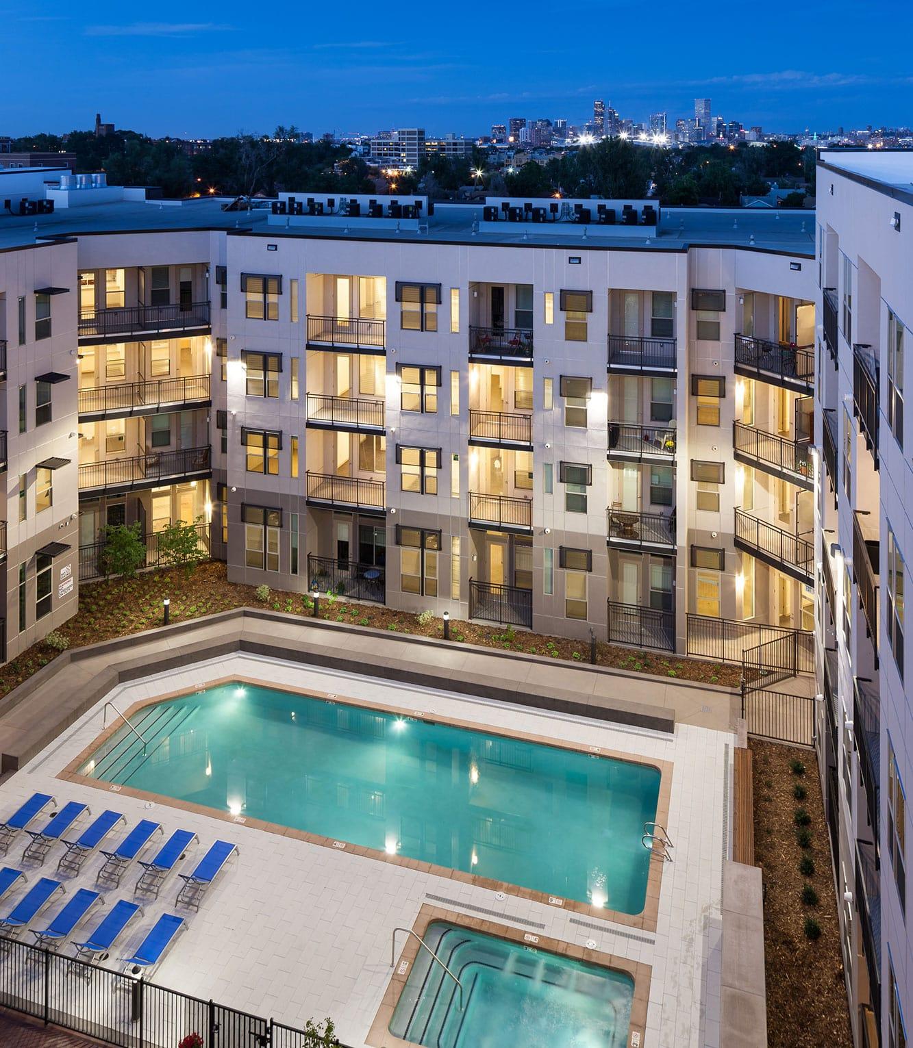 Front Range Electrical Engineering Regatta Sloan's Lake Alexan Luxury Apartments